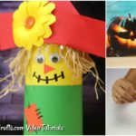 Learn how to make a paper scarecrow craft to share with your kids