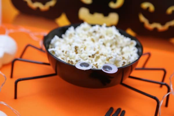 Halloween Spider Bowl Party Decoration