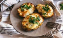 Easy Loaded Potato Skins Recipe