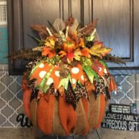 Fall Wreath Fall Harvest Wreath Pumpkin Wreath