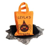 Personalised Halloween Treat Bag