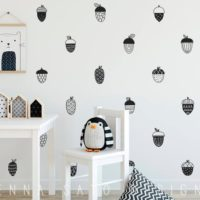Acorn Wall Decals