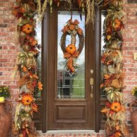 Fall Door Garland