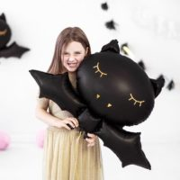 Giant Black Bat Balloon