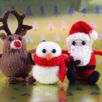 Wicked Chickens Wickedly Cute Holiday Trio Christmas Ornaments