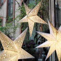 "Paper Star ""pax white"" | Christmas Star lit | Decoleuchte"