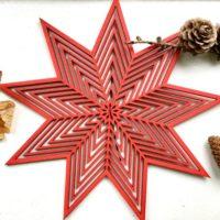 ISO TÄHTI Christmas tree topper (20 cm)