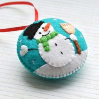 Christmas decorations Snowman ornament