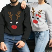 Christmas sweater couple sweaters