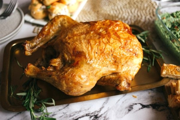Baked Roasted Rosemary Chicken Recipe
