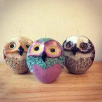Swazi Owl Candle