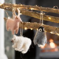 Nordic Felt Christmas Decorations