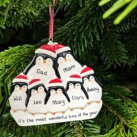 Personalised Family Christmas Tree Decorations