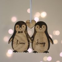 Luxury personalised Christmas Decoration