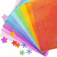 Foam Glitter Paper