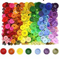 Multi-Pack Colorful Buttons