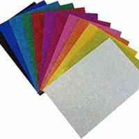 Glitter Foam Paper
