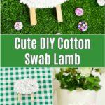 Cotton swab lamb pictures