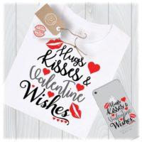 Valentine's Wishes SVG Files