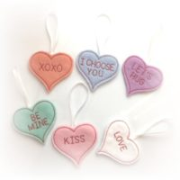 Valentines Day Mini Heart Gift Tags