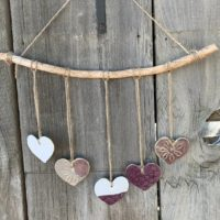 Ceramic Heart Mobile