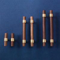 Brass Wood Drawer Pulls