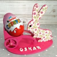 Personalized Easter Wooden Egg Holder