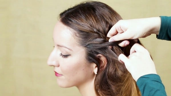 Adding more hair into braid