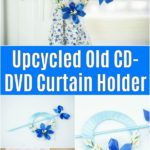 CD Curtain holder collage