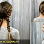 Double Dutch braids collage