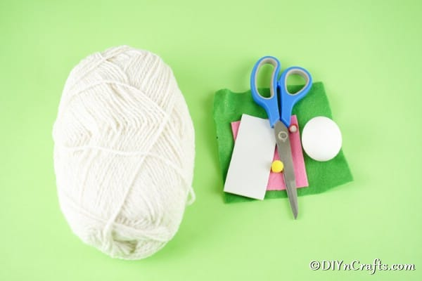 Easter egg gnome supplies