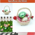 Mini Easter basket collage