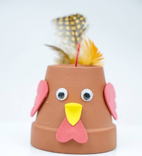 Cute DIY Flower Pot Chicken Craft With Video