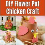 Terra cotta flower pot chicken