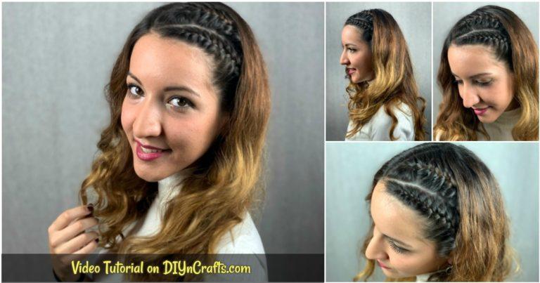 Side braid collage