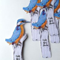 Kingfisher Bookmark