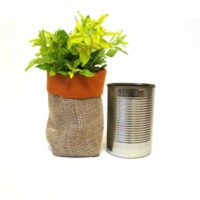 Upcycled Tin Can Flower Vase