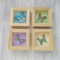 Pastel Butterfly Wall Art