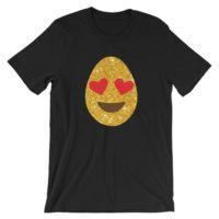 Glittery Easter Egg Emoji TShirt