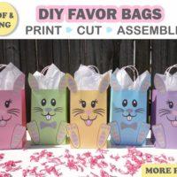 Bunny Favor Bags