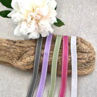 Pastel Saddle Stitch Ribbons