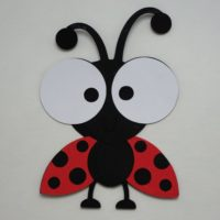 Ladybug Diecut, Baby Shower, Birthday Party Decorations