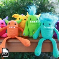 Monster Crochet Amigurumi Pattern
