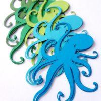 Octopus Die Cut Outs