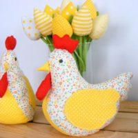 Easter Chicken Spring Home Chicken Decor