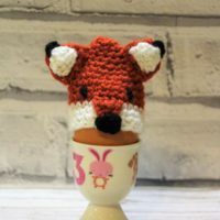 Crocheted Fox Egg Cover