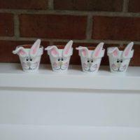 Tiny Bunny Planter Pot