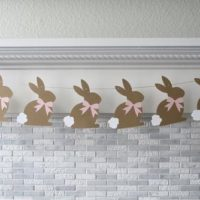 Hopping Bunny Easter Garland