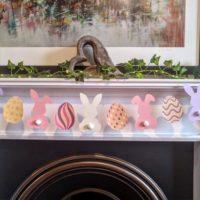Bunny Butt Easter Egg Garland
