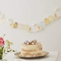 Paper Easter Bunny and Egg Bunting